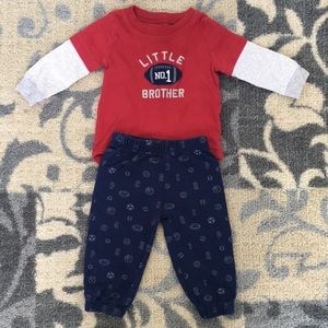 """Two piece """"little brother"""" outfit"""